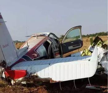 Avião com médico fazendeiro de Araçatuba cai em fazenda do MT