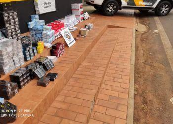 TOR apreende R$ 100 mil em produtos contrabandeados do Paraguai